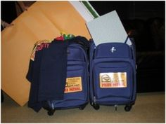 The Prize Patrol suitcases!!