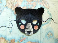 Gorgeous masks for Halloween. Handmade of course.