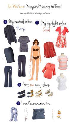 Mix and Match Travel Wardrobe