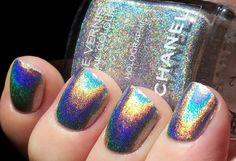 Chanel holographic nailpolish