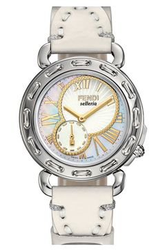 Fendi 'Selleria' Customizable Watch |Pinned from PinTo for iPad|
