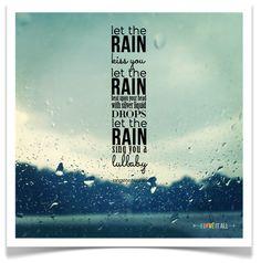 let the rain kiss you | iloveitallwithmonikawright.com