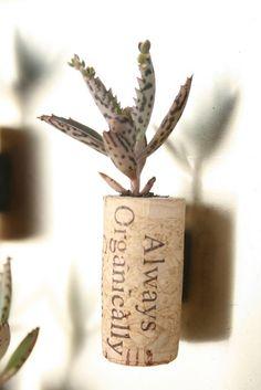 repurposed wine cork
