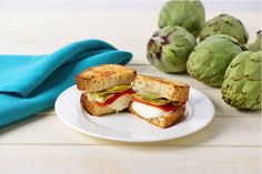 grilled cheese sandwiches, artichok grill, healthy lunches