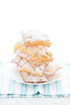 colazion, sweet, italian, di carneval, food, crostoli, chiacchier, dessert