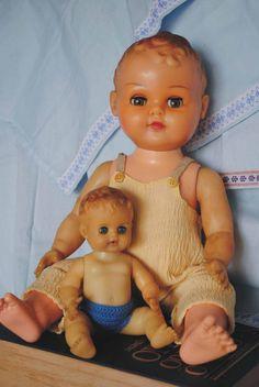 Bonecos de borracha anos 60, da Estrela.