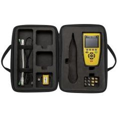 VDV Commander Test Kit (Cat. No. VDV501828) – We're expanding our VDV line with a full-featured voice/data/video cable tester including PoE, length measurement and reporting capabilities.