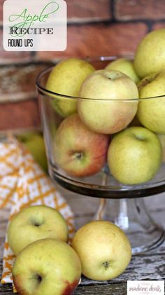 Now is the time to take advantage of the ripe and juicy flavor of apples. Check out these Apple recipes.