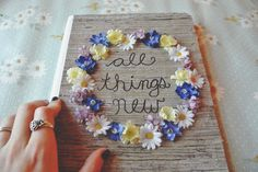 freely ronnie: all things new // wildflower journal