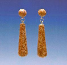 Memorial Bead Earrings, Allison Style, Sterling Silver