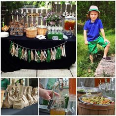 """Cute party theme alert: """"Happy B - Earth - Day"""" with so many great earth/planet/conservation details! #kidsparty #earthday"""