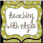 """""""Visit my blog at www.teaching-with-style.com!""""...."""