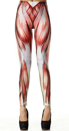 Shop Red Muscle Print Elastic Leggings online. Sheinside offers Red Muscle Print Elastic Leggings & more to fit your fashionable needs. Free Shipping Worldwide!