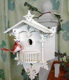 Cuckoo Cottage birdhouse