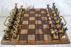 Bullet Shell Chess Set