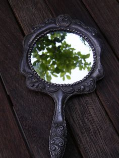 Looking at the trees through the Magic Mirror.