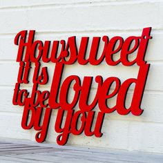 How sweet it is to be loved by you James Taylor by spunkyfluff, $57.50