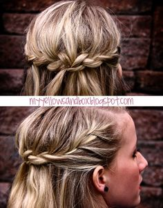 braided crown how-to