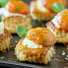 ... honey bourbon mascarpone cheese and topped with roasted apricots