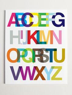 Rainbow Helvetica