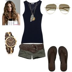 Summer Casual, created by wcatterton on Polyvore