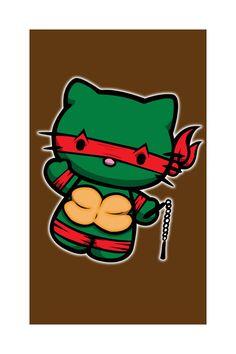 teenage mutant ninja kitty