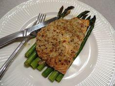 Garlic Parmesan Salmon & Asparagus Foil Pack | Calorie Warrior