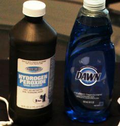 Dawn & Hydrogen Peroxide