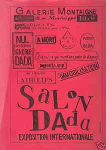 Dada and dadaism : Paris