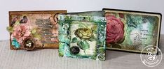 Mixed Media Cards on Live with Prima
