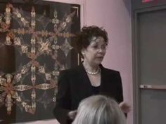 ▶ Kaleidoscope Quilts by Paula Nadelstern - Part 1 - YouTube