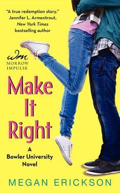 Jen's Book Club Pick! Make It Right by Megan Erickson