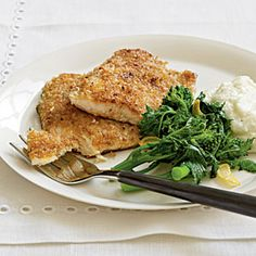 Pecan-Crusted Trout   CookingLight.com #myplate #protein