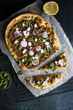Lahmacun: Turkish Pizza with Spiced Lamb