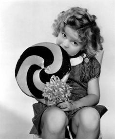 A SHIRLEY TEMPLE MOMENT