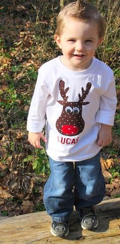 Boys Christmas Shirt Boy Christmas by willowlaneboutiques on Etsy