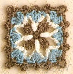pretti squar, small crochet, beauti squar, color combos, crochet squares