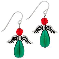 Angel on Earth Earrings | Fusion Beads Inspiration Gallery