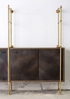 The Collector's Shelving System Credenza These credenza units fit into single and multi-bay units offering additional flexibility and functi...