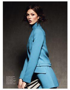 Harper's Bazaar Rusia Septiembre 2012 - Karlie Kloss por Natalia Alaverdian.