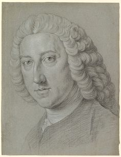 Drawing of William Pitt the Elder by William Hoare