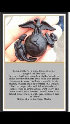 I'm a Marine Mom!