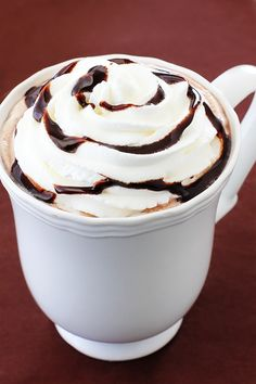 Nutella Hot Chocolate Recipe | gimmesomeoven.com