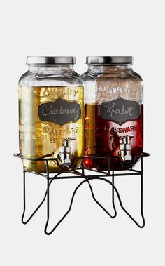 Ashland Dual Beverage Dispenser
