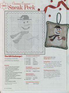 Gallery.ru / Фото #35 - Just Cross Stitch 07-08.11 - Los-ku-tik; The Gift Exchange Christmas ornament