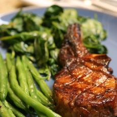 Marinated Pork Chops on Pinterest | Stuffed Pork Chops, Breaded Pork ...