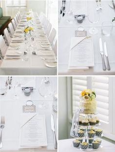 Our yellow and grey wedding