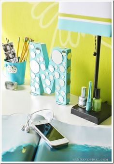 Mirrored Letter Craft - should take 30 mins or less