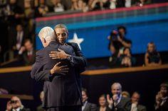 Agree. Obama gets my vote for 'best hugger ever' by kk+, via Flickr