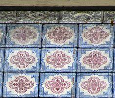 Azulejos antigos no Rio de Janeiro: Centro XLIV - rua Teophilo Otoni